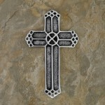 30129- ALUMINIUM WALL CROSS