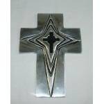30345- ALUMINIUM WALL CROSS