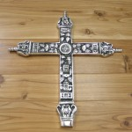 30964- ALUMINIUM WALL CROSS