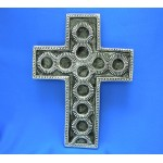 30986- ALUMINIUM WALL CROSS