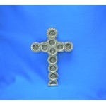 31016- ALUMINIUM WALL CROSS