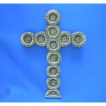 31018- ALUMINIUM WALL CROSS
