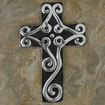 31070- ALUMINIUM WALL CROSS