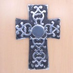 52362 - ALUMINIUM WALL CROSS
