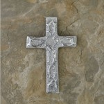 50605 - ALUMINIUM WALL CROSS