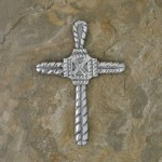 40617- ALUMINIUM WALL CROSS