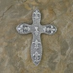 40621- ALUMINIUM WALL CROSS
