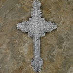 40624- ALUMINIUM WALL CROSS