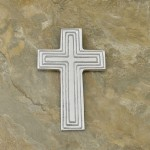 50606-ALUMINIUM WALL CROSS