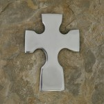 51078-ALUMINUM WALL CROSS SMOOTH FINISH
