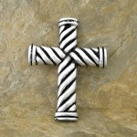 52360-ALUMINIUM WALL CROSS