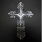 52363- ALUMINIUM WALL CROSS