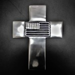 30341- ALUMINIUM WALL CROSS