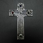 30077- ALUMINIUM WALL CROSS