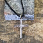 "NK12123 - ANTIQUE CROSS CHAIN NECKLACE - 29""*"