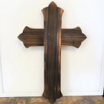 3925L -  LARGE WOOD CROSS