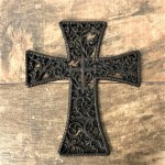 56404 - CAST IRON WALL CROSS
