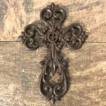 56575 - CAST IRON WALL CROSS