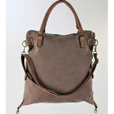 9190 - BROWN DUFFLE BAG