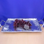 52234 - PINECONE TRAY W/HANDLE