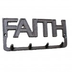 56579 - FAITH SIGN 4 HOOKS