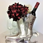 50774-1 - LARGE BOOT WINE HOLDER