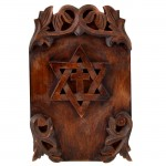 2805-DESIGNER WOOD WALL PLAQUE