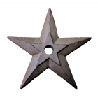 56503- CAST IRON STAR WALL DECOR