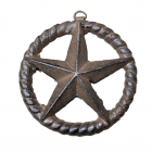 G021- CAST IRON STAR WALL DECOR