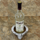 22667 LONGHORN WINE COASTER / CANDLE HOLDER