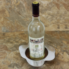 22668 TEXAS SHAPE WINE COASTER / CANDLE HOLDER