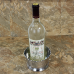 3482 HAMMERED WINE COASTER