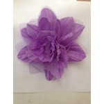 1180650-LT-PURPLE FLOWER BROOCH