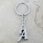 10030-A PLAIN INITIAL LETTER KEY CHAIN