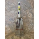 51034-SQ PLAIN CANDLE HOLDER