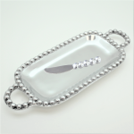 52048 - BEADED TRAY / W SPREADER
