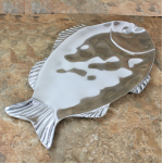 52493 - LARGE DENTED FISH TRAY