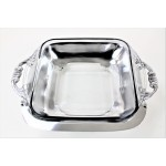 52543 - PLAIN  FANCY HANDLE HOLDER PYREX  W/GLASS