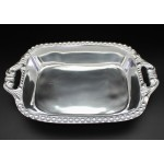 1274 - BEADED SQUARE BAKING DISH