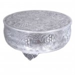 80093 - MEDIUM ROUND CAKE STAND / GRAPE DESIGN 16''