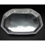 1264- LARGE RECTANGULAR BEADED TRAY
