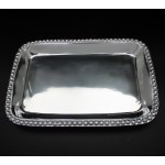 1266 BEADED RECT. TRAY