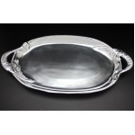 1282 - OVAL TRAY W/CRABS