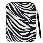 180623-BLACK/WHITE ZEBRA DESIGN IPAD 2 ,3 AND NEW IPAD COVER