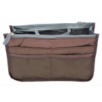 9194 -BROWN PURSE INSERT ORGANIZER