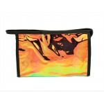9171 -BROWN HOLOGRAPHIC COSMETIC BAG