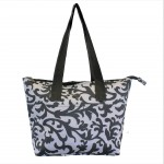 12007 -GREY LEAF DESIGN INSULATED LUNCH BAG