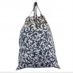 12010-GREY LEAF LAUNDRY BAG