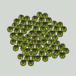 20SS -OLIVINE -OLIVINE RHINESTONE FLATBACK HOT FIX 1440 PCS. (10 GROSS)