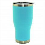 500512- AQUA 30OZ STAINLESS STEEL TUMBLER